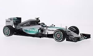 Mercedes F1 W06 hybride, No.6, Mercedes AMG Petronas F1 Team, Petronas, formule 1, GP Australie, 2015, voiture miniature, Miniature déjà montée, Minichamps 1:18