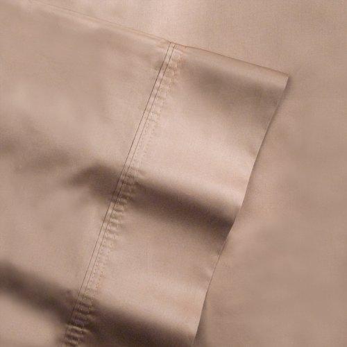 pointehaven 500-thread Zählen 100Prozent Ägyptische Baumwolle Paar Kissenbezüge, baumwolle, Expresso, King Size