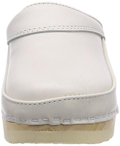 Gevavi  400 BIGHORN flexibler, Mules mixte adulte Blanc (weiss(wit) 01)