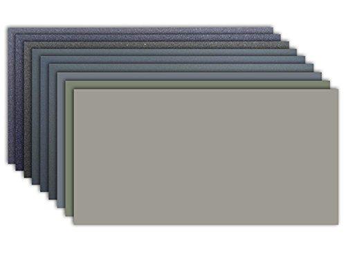 Micro-Mesh Schleifpolier Kit - 9 Blatt 6 x 12 Zoll
