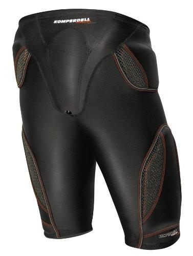 Komperdell Herren Protector Hose Cross Short, schwarz, S, 6075-02 (Hose Snowboard 2010)
