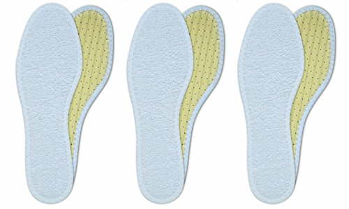 3 Paar Barfußsohle, Frottee, antibakteriell, Aktivkohle, atmungsaktiv, handwaschbar (44)