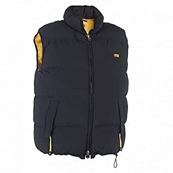 Caterpillar C430 Quilted Insulated Vest / Mens Jackets (Small) (Black)