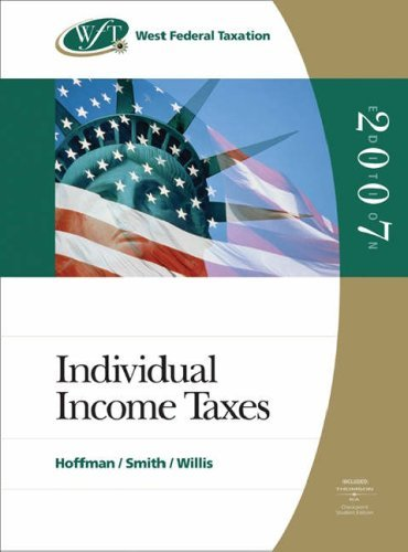 west-federal-taxation-2007-individual-income-taxes-with-ria-checkpoint-and-turbo-tax-premier-cd-rom-