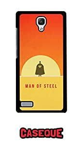 Caseque Sunrise Superman! Back Shell Case Cover For Xiaomi Redmi Note
