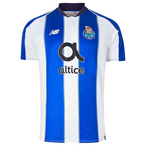 294424e92a4c4 New Balance 2018-2019 FC Porto Home jersey- White/Blue S