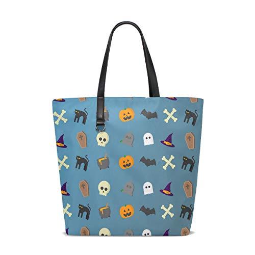 Tote Bag Handtasche 12,6 x 5 x 14,8 Zoll niedlich stilvoll Halloween