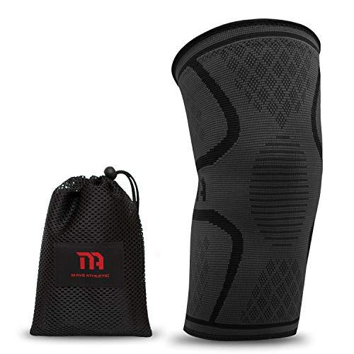 MAVE ATHLETIC Kniebandage - Die Innovative Kniebandage für Sportler (Einzeln, S)