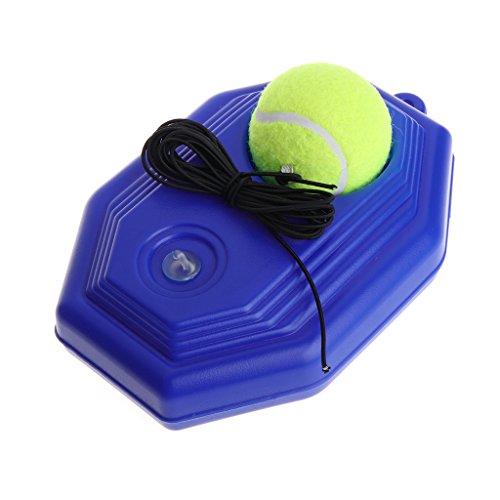 Tennis Trainer Rebound Ball Set Incluso Pallina da Tennis e Corda Elastica in Gomma per Principianti