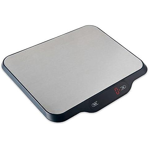 Smart Weigh Báscula Postal Y Báscula Digital De Cocina Multifuncional Con Plataforma Ancha, 15kg De Capacidad