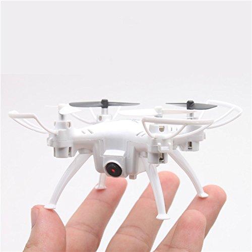 ANKOUJA RC Mini Quadrocopter Utterance-Controlled Mini Drone 720P HD WiFi Camera (weiss)