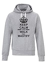 Keep Calm And Walk The Mastiff Dog Chunky Awdi Hoody Hoodie