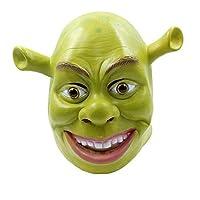 d65275fcc7c8d Máscara YN Película de Halloween Monstruo Verde Shrek Sombrero Fiesta de  Disfraces Divertido Sombrero de látex