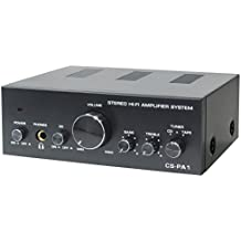 Dynavox CS-PA1 - Amplificador de audio (2.0, 50 W, 20 - 30000 Hz, 6.3 mm, 230 V), color negro