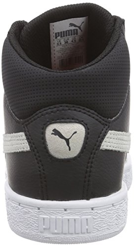 Puma Puma 1948 Mid L Unisex-Erwachsene Hohe Sneakers Schwarz (black-white 03)