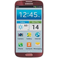 Samsung Galaxy S4, Red Aurora 16GB (AT&T)