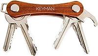 KEYMAN - Organisateur de clés en bois   Votre trousseau de clés est-il encombrant et bruyant ?  Est-ce que vos clés grelottent et vous piquent dans la poche ?  Les clés sont des objets que vous utilisez tous les jours.   Ne voudriez-vous pas que vos ...