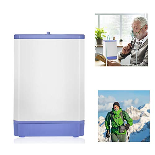 ZBLL 3L/Min Portable O2 Machine, Oxyen Concentrator for Home And Travel Air Purifier Machine