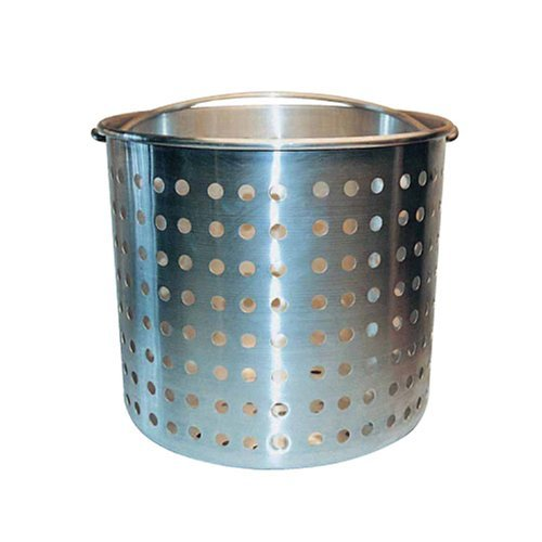 Winware Professional Aluminum Steamer Basket Fits 60-Quart Stock Pot by Winware 60 Quart Stock Pot