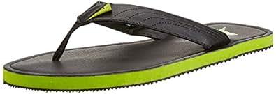 Puma Men's Ketava II Black-Macaw Green Hawaii Thong Sandals - 7 UK/India (40.5 EU)