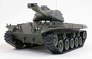 Heng Long Radio Remote Control US M41A3 Bulldog Smoking RC Battle Tank