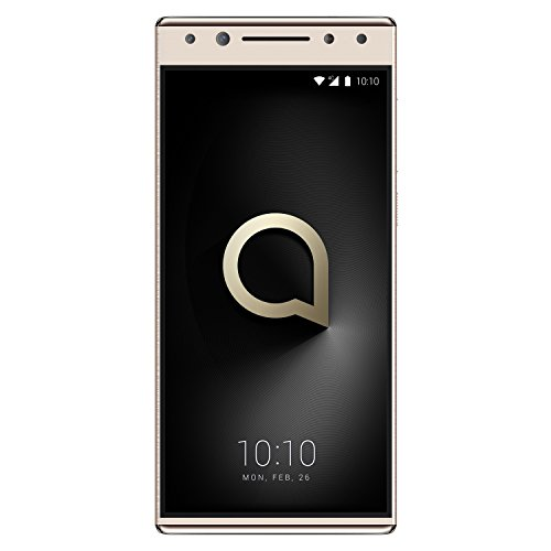 "Alcatel 5 - Smartphone DE 5.7"" (Quad-Core 4 x 1.5 + 4 x 1 GHz, Memoria 32 GB Ampliable hasta MicroSD de 128 GB, Cámara DE 16 MP F2, Android 7.1) Color Oro"
