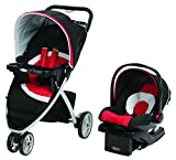 Graco Travel System Pace Click Connect Spice (Black/Red)