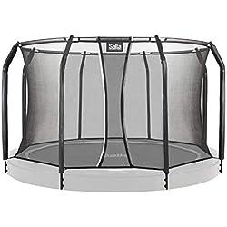 Salta - Cama elástica Unisex Juvenil Royal Baseground - Red de Seguridad Opcional, 5083, Negro, 251cm