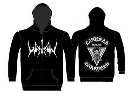 2010-jacke (Official Merchandise Watain - Lawless Darkness Zip-Jacke XL by Official Merchandise Watain (2010-11-11))