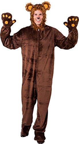 Orlob Erwachsenen Kostüm Bär Braunbär Karneval Fasching (175-190cm)