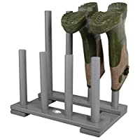 Grey Garden Porch Boot Welly Wellington Rack Holder Stand Gift FSC