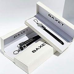 Idea Regalo - PORTACHIAVI in pelle | Portachiavi cavo di ricarica USB | Portachiavi nero in vera pelle con tre tipi di connettore Micro, TypeC, i Phone | Idea regalo tecnologico (TypeC)