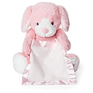 GUND 6053238 GND GMM Peek A Boo Puppy-Pink Gen Multicolor alfonbrilla para ratón