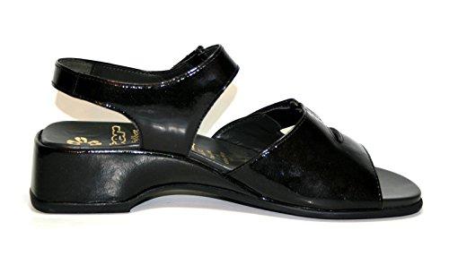 Ganter Juwel Comfort 35 367 01 Damen Schuhe Sandalen, Weite E Schwarz