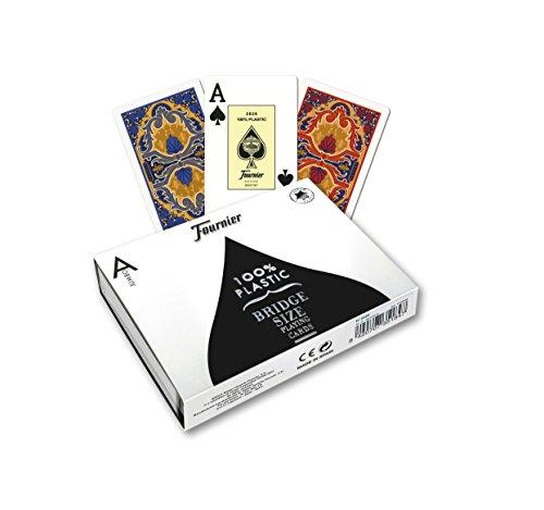Imagen principal de Fournier - 35188 - Juego de cartas - Rosas - 2 Índice de Jumbo