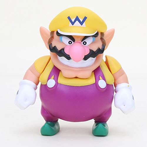 B123 Action & Toy Figures - 8cm Super Mario Bros Odyssey Boo Ghost Yoshi Luigi Peach PVC Action Figures Figurines Collectibles Dolls Kids Toys for Boys - by 1 PCs