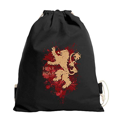 Gymsac Hear me Roar Trendy Rucksack Turnbeutel Game of Thrones Lannister