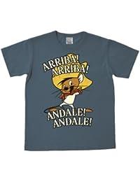 T-shirt Speedy Gonzales - Speedy González - Arriba Andale - T-shirt Looney Tunes - T-shirt à col rond de LOGOSHIRT - bleu - Design original sous licence