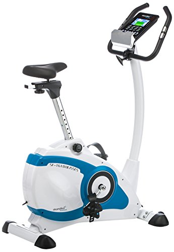 SKANDIKA Ulisses Vélo d'appartement Mixte Adulte, Blanc/Bleu
