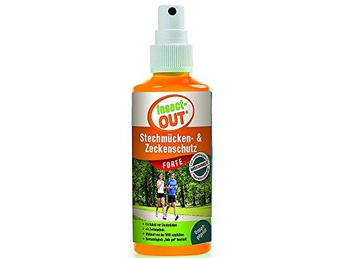 Insectout Forte - Protección anti mosquitos y garrapatas, 100ml