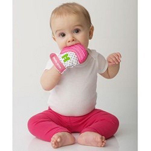 Mouthie Muffola - muffola a guanto dentizione in silicone - Rosa 5d1e07cadb70