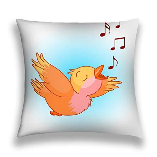 suzhoudoushioumiyafushi Kissenbezüge Throw Pillow Cover Pillowcase Bird Song Bright Sofa Home Decorative Cushion Case 18
