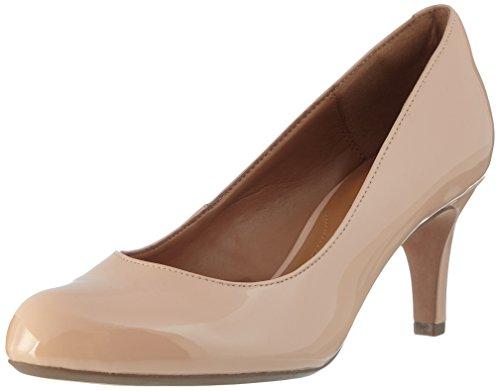 Clarks Arista Abe, Zapatos Tacón Mujer, Beige Nude
