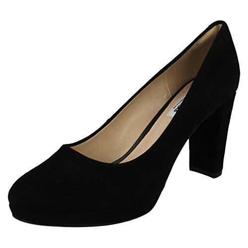 Clarks Shoes Kendra Sienna Größe 43 Schwarz (Black)