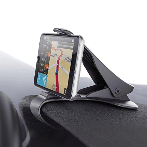 Auto-Halterung, Voroar HUD Entwurf Auto-Handyhalterung Auto Kratzschutz Handyhalter Armaturenbrett Universal Winkel einstellbarer rutschfest einfach Bestätigung Phone Halter für iPhone 7 7 Plus-6S 6, Samsung Galaxy S8 S7 und andere Smartphone (3.5