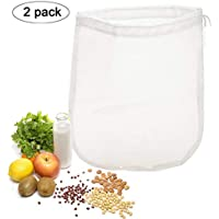 OldPAPA 75μm Nut milk bag, bolsa para hacer leches vegetales,bolsa para hacer queso