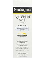 Neutrogena Ecran solaire Age Shield pour le visage - Protection anti-âge supérieure - FPS 70 - 90 ml