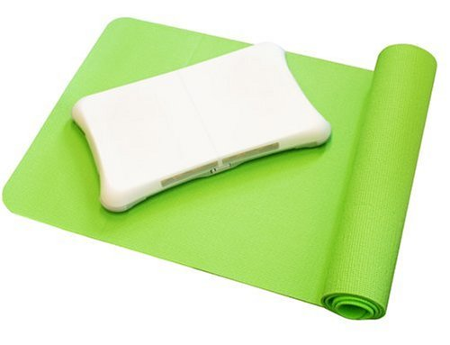 Nintendo Wii - A4T Yoga Mat & Silicon Skin Bundle [UK Import] (Wii Balance Board Fit Bundle)