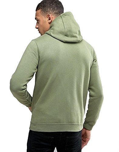 Nike Sportswear Men's Full-Zip Hoodie Grün (palm green / palm green / white)