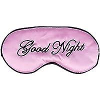 Healifty Augenmaske, Seide, bestickt, große Augenbinde, für Herren, Frauen und Kinder, Rosa preisvergleich bei billige-tabletten.eu